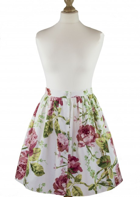 Summer Rose Skirt Front