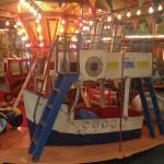 Carousel boat