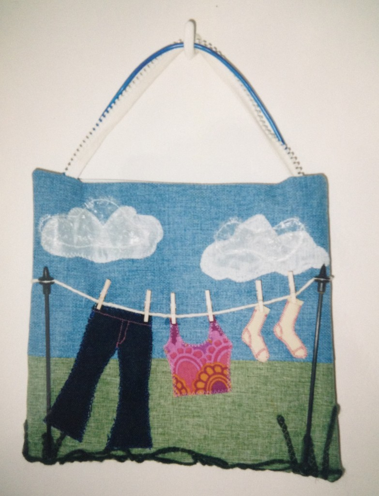 Washing-line-handbag
