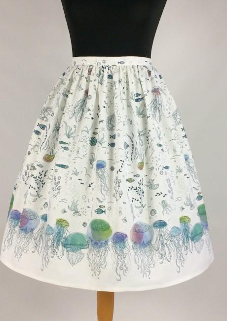 Jellyfish skirt with petticoat