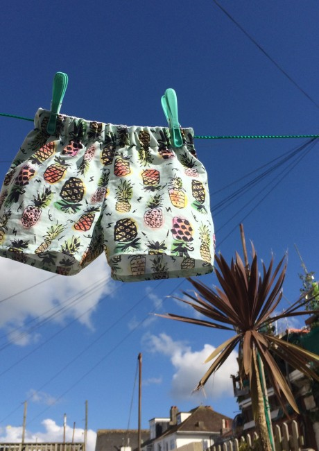 The Pineapple Shorts
